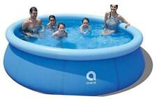 New listing Family Inflatable Swimming Pool,Inflatable Kiddie 8ft x 25in Blue