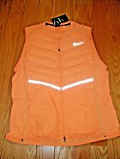 LAST ONE**MENS**NIKE AEROLOFT RUNNING VEST**ORANGE**BNWT*LARGE**BUY ME!