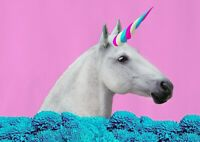 A1| Magical Unicorn Poster Size 60 x 90cm Mythical Creature Poster Gift #15908