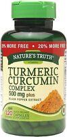 Natures Truth Turmeric Curcumin Complex 500 mg Quick Release Capsules 120 ea
