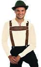 Oktoberfest Lederhosen Suspenders Adults Bavarian German Costume Accessory Beer