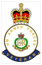 Classic HM Armed Forces RMP Royal Military Police Veterans specific Sticker