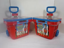 (Lot of 2) Melissa & Doug Fill & Roll Grocery Basket Play Set Free Shipping