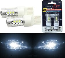 LED Light 80W 7440 White 5000K Two Bulbs Stop Brake Tail Upgrade Replace OE