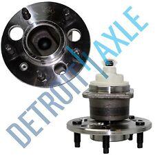 Set (2) New REAR Wheel Hub & Bearing Ass'y w/ 5 Lug for Century Regal w/ ABS
