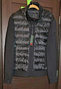 TUMI TRANSITIONAL NEOPRENE Puffer Hooded Zip Men's Jacket . Size: L NWT