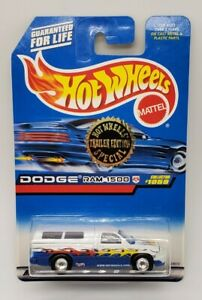 1998 Hot Wheels Trailer Edition Dodge Ram 1500 Real Riders Tires Rare