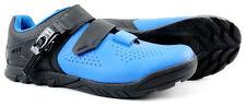 Giant Line Men's Shoes Clipless Size 10 US EUR 43 Blue/Black 2 Bolt Road MTB