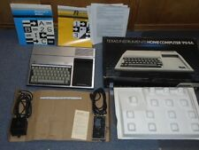 Vintage Texas Instruments TI 99/4a Home Computer Game System Used
