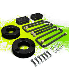 "2.5""F SPACER+2""R BLOCK LEVELING LIFT KIT FOR 04-17 FORD F150 4WD 4X4 TRUCK BLACK"
