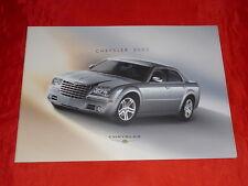 CHRYSLER 300C Limousine 2.7 3.5 5.7 V8 HEMI Prospekt + Preisliste von 2004