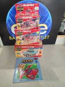 Vintage Rare Kenner Mask Toy Lot W/ Boxes/ instruction booklets