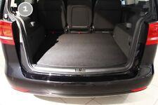 Kofferraummatte mit Ladekantenschutz für VW Sharan 2 Alhambra 2 7N