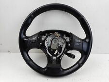 2007 LEXUS IS220 MULTIFUNCTION LEATHER STEERING WHEEL WITH PADDLE SHIFT