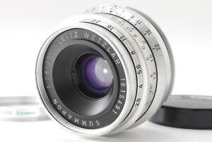 *NEAR MINT* Leica Leitz Summaron 35mm F/2.8 Lens For Leica LTM L39 w/M Adapter