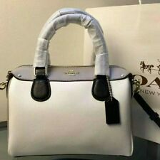 Coach colorblock bag Woman Handbag Leather