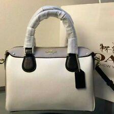 Coach colorblock bag Woman Handbag Leather