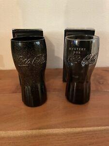 McDonalds - Coca Cola - Mystery Gläser 2020 - streng limitiert 2 von 2 schwarz