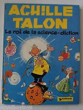 ACHILLE TALON: Le roi de la Science Diction BD GREG 1977
