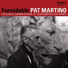 PAT MARTINO-FORMIDABLE-IMPORT CD WITH JAPAN OBI F08