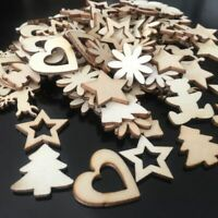 Crafts Decorations Natural Wood Embellishments Christmas Ornaments Scrapbooking
