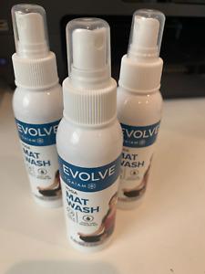 Evolve By Gaiam Yoga Mat Wash Spray  Lot of Three