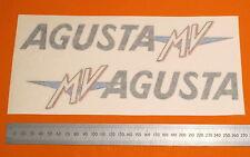 MV AGUSTA 350/ 750/1000/MAGNI  FAIRING SIDES  CLASSIC  DECALS PAIR  LARGE
