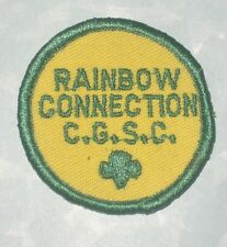 """Rainbow Connection C.G.S.C. Patch - Girl Scouts 2"""" x 2"""""""