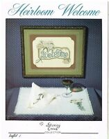 HEIRLOOM WELCOME - STONEY CREEK CROSS STITCH BOOK