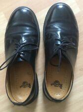 Dr Martens 1461 Black Classic Vintage 90s Shoes Boots UK8 EU42 Leather Grunge