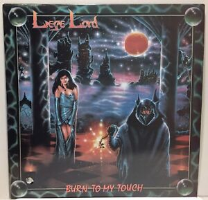 LIEGE LORD Burn to My Touch - LP VINYL RECORD 1987 Metal Blade Combat - NEW