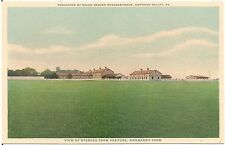 View of Stables From Pasture, Normandy Farm, Gwynedd Valley PA Postcard