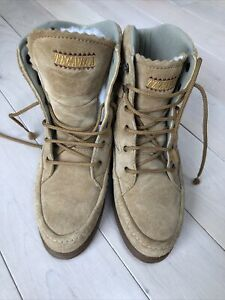 $279 Tecnica made in Italy lace up combat Size 37 EUR US 6 Boots