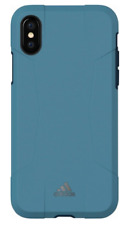 Brand New OEM Adidas Solo Series Hybrid Hard Case for Apple iPhone X/Xs- Blue