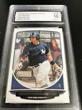 2013 Bowman #TP-31 Gary Sanchez RC Yankees Baseball Rookie PGA Graded 10