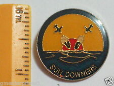 Sun Downers  Military Bombers Pin  Vintage RARE Pin ,  (90)