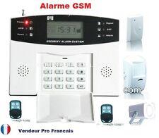 Kit alarme de maison GSM telephonique sans fil enregistrement vocal 1 zone -99