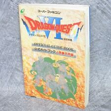 DRAGON QUEST VI 6 Official Guide Book Vol.1 Sekai SFC EX*