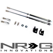 NRG Hood Damper Kit - Polished Stainless Steel (1996-2000 Honda Civic) EK