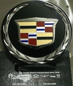 2007-2014 Cadillac Escalade Front Grille Emblem by Cadillac 22985035 GM OEM Part