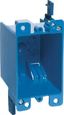 Carlon  4-1/8 in. H Rectangle  1 Gang  Outlet Box  Blue  PVC, B114R-UPC