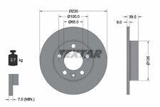 2x TEXTAR Bremsscheibe PRO 92082503 für AUDI VW SEAT SKODA A1 GOLF A3 TT POLO A2
