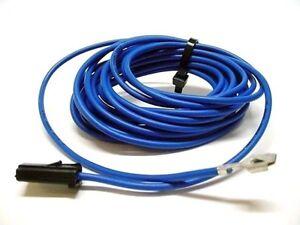 1964-77 Rear Seat Radio Stereo 6x9 Blue Speaker Wire Lead Harness Pigtail BOPC