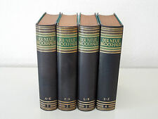Der Neue Brockhaus, 1. Auflage, 4 Bände (A bis Z), Halbleder, OVP