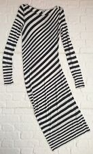 & Other Stories Navy Blue & White Striped Dress Size EU 40 / UK 14 / US 10 Long