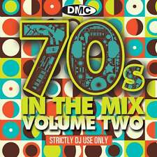 DMC 70s In The Mix Vol 2 DJ Music CD Megamix Continuous Disc Seventies