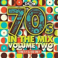 DMC 70s In The Mix Vol 2 DJ Music CD Megamix Continuous Disc Seventies