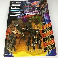 Space Marine Atax ALIENS 1992 Kenner Action Figure with gear and mounted missile