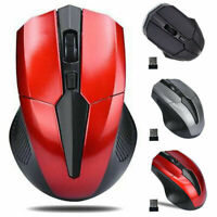 2.4GHz Optical Mouse Cordless USB Receiver For Laptop PC Computer Wireless SZ