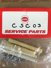 COX KYOSHO GTP VINTAGE R/C RACE CAR PARTS GAS POWERED GTP CSC 03 BODY POST SET